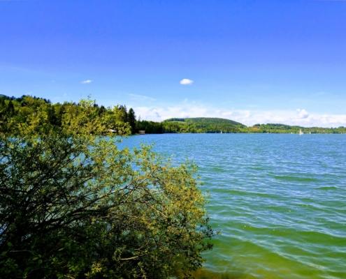 barrierefreier Blicl über den See