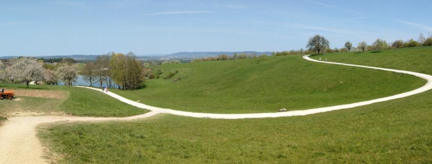 Panorama runter zum Sklavensee