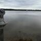 Blick über den düster herbstlichen See