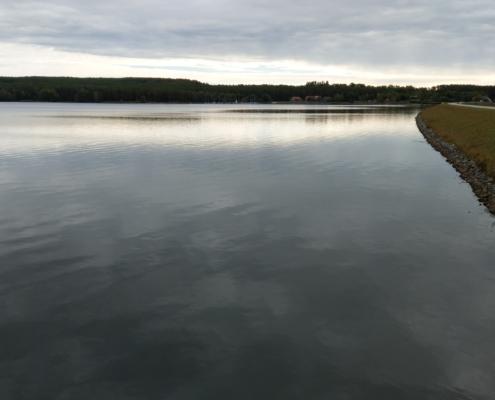 das ist ein schöner Blick über den Rothsee