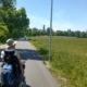 Pegnitzauen mit Blick auf Rathaus- Wiesengrund Fürth
