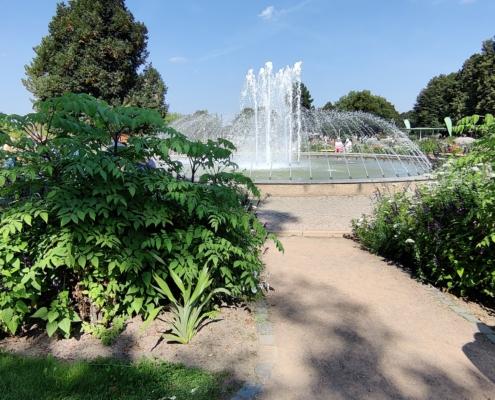 Brunnen im egapark