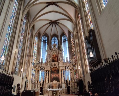 Erfurter Dom von innen