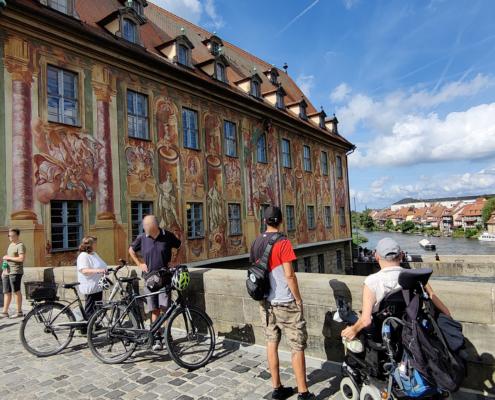 Fassadenmalerei vom Alten Rathaus