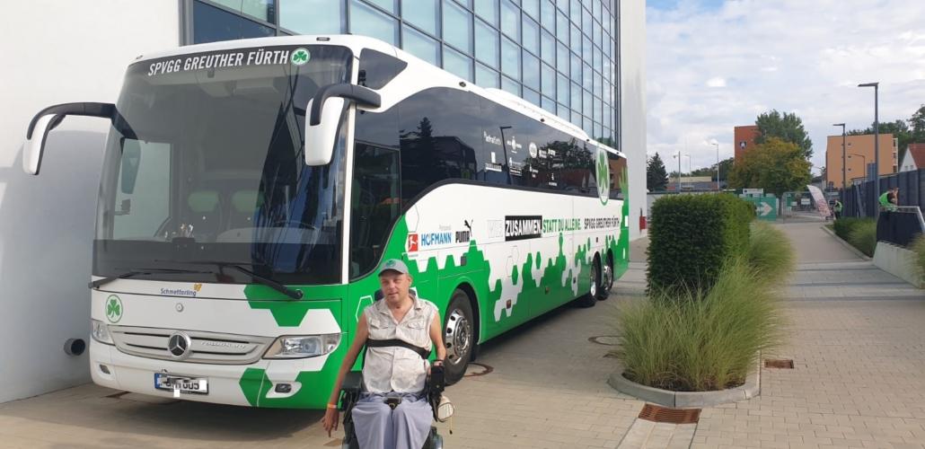 Greuther Fürth Mannschaftsbus