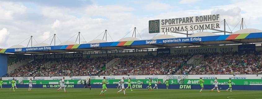 Greuther Fürth gegen VFL Wolfsburg