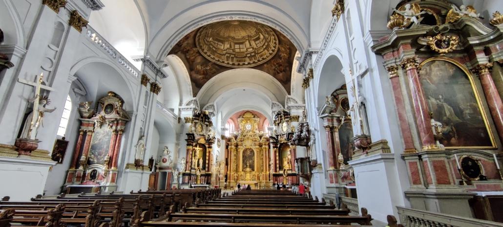Kath. Kirche St. Martin von innen