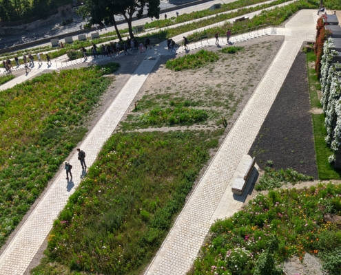 barrierefreier Zugang Petersberg